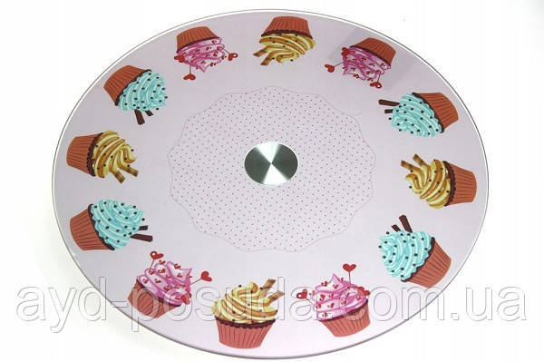 Стеклянная подставка для торта арт. 860-21630