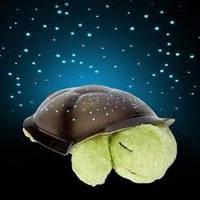 Ночник проектор звездного неба, ночник черепаха музыкальная