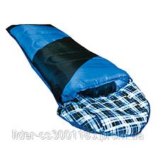 Спальний мішок Tramp NightLife індиго / чорний  L TRS-046-L