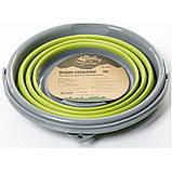 Ведро складное силиконовое Tramp TRC-091-olive, фото 3