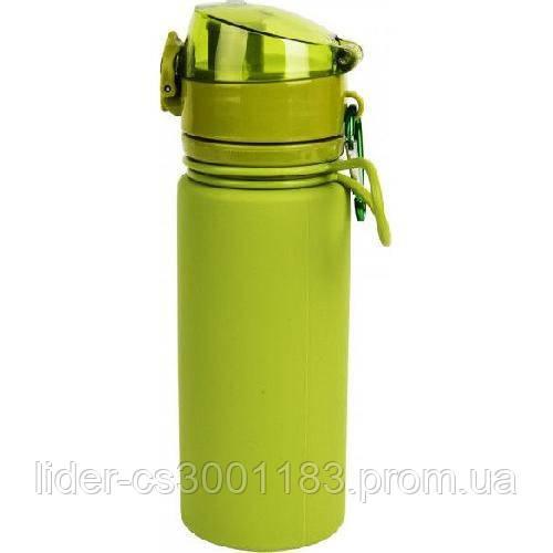 Бутылка силикон 500 мл Tramp TRC-093-olive