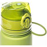 Бутылка силикон 500 мл Tramp TRC-093-olive, фото 2