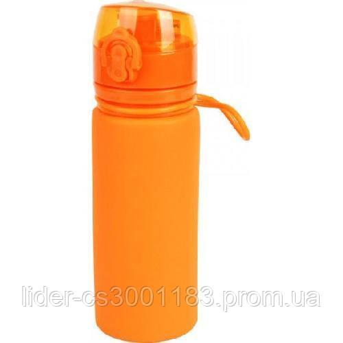 Бутылка силикон 500 мл Tramp TRC-093-orange