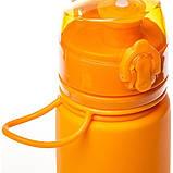 Бутылка силикон 500 мл Tramp TRC-093-orange, фото 2