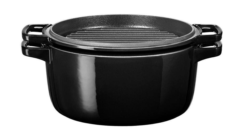 Каструля KitchenAid 5,65 л чорна KCPI60CROB