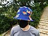 Панама Cayler & Sons синяя (панамка кайлер с ананасами мужская женская), фото 3