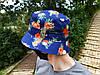 Панама Cayler & Sons синяя (панамка кайлер с ананасами мужская женская), фото 2