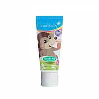 Детская зубная паста С КСИЛИТОМ BRUSH-BABY 0 - 2 БЕЗ ФТОРА 50 МЛ