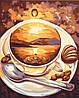 Картина по номерам Рассвет кофе 40*50см Идейка KHO2027 Чашка кофе, фото 2