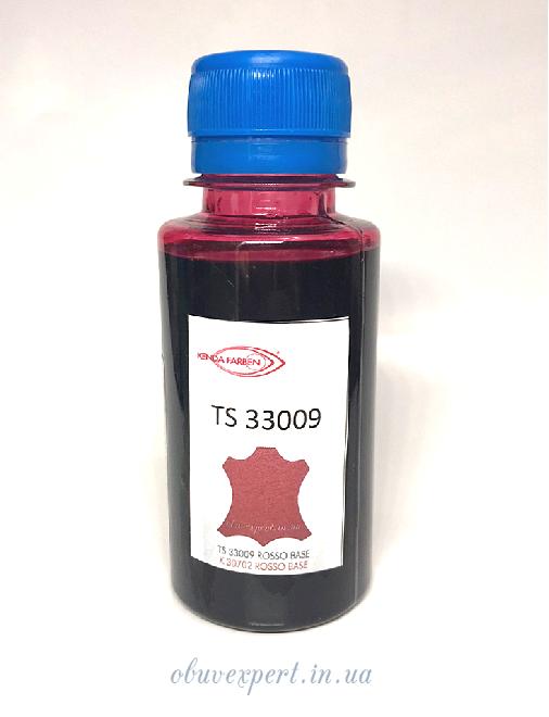 Фарба Kenda Farben Toledo Super 33009 red / червоний, спиртова для шкіри, 100 мл