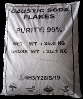 Сода каустическая (гидроксид натрия, натр едкий) чешуированная в мешках, 25 кг, фото 1