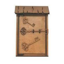 Ключница деревянная Малая I Ключница на стену ,Ящик для ключей из дерева