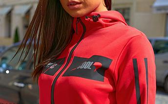 Спортивный костюм красно-черный Minova Размеры: 42.44.46.48.50.52.54.56., фото 3