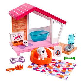 Мебель для кукол Барби Собачья будка с аксессуарами FXG34