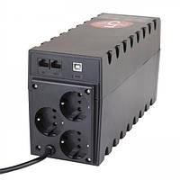 ИБП Powercom RPT-1000A Schuko USB