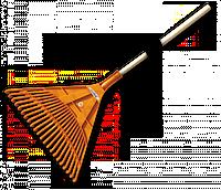 Грабли веерные KT-CX22В Bradas