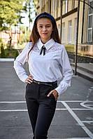Детская школьная блузка для девочки, фото 1