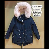 Детские зимние куртки  парки  для девочек оптом NewFashion, фото 1
