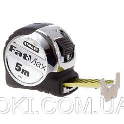 Рулетка измерительная FatMax® Xtreme™ длиной 5 м, шириной 32 мм в обрезиненном литом хромированном корпусе STANLEY 0-33-887