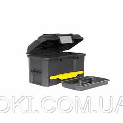 Ящик пластиковый с выдвижной секцией, размеры 481х279х287 мм STANLEY 1-70-316