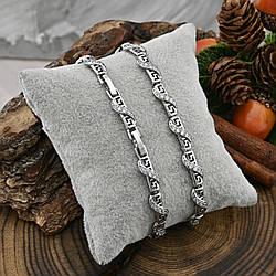 Браслет Xuping 41950 длина 17+2 см ширина 5 мм вес 10.0 г белые фианиты позолота Белое золото