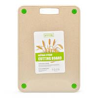 Разделочная доска из Пшеничной шелухи SHEYAR  R29054 ЭКО 25х35 см