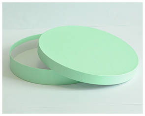 Коробка для макаронс круглая 31*5 см