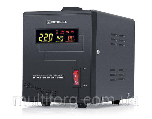 Стабилизатор напряжения REAL-EL STAB ENERGY-500