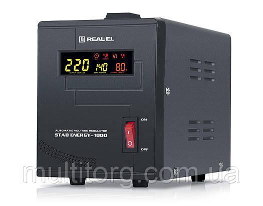 Стабілізатор напруги REAL-EL STAB ENERGY-1000