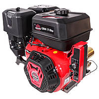 Двигатель бензиновый Vitals Master QBM 17.0ke  (17 л.с, под шпонку, электростартер) +Бесплатная адресная