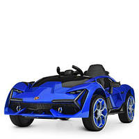 Машина M 4115EBLR-4 (1шт) 2,4G, 2мотора35W, 1аккум12v4,5ah, муз, свет, MP3, USB, TF, кожа, EVA, син, фото 1