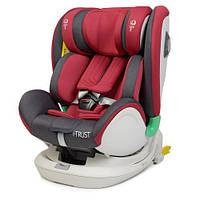 Автокресло детское ME 1081 i-TRUST Red (1шт) i-SIZE R129, фаза 1,2 (рост ребенка 40-135см),360,красн, фото 1