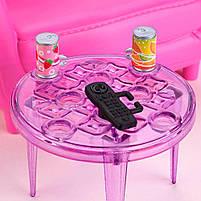Мебель для кукол Барби Гостинная с аксессуарами FXG36, фото 6