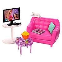Мебель для кукол Барби Гостинная с аксессуарами FXG36, фото 5