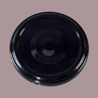 Металлическая крышка для банки стеклянной 58 мм черная