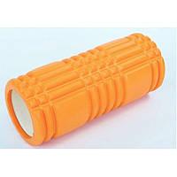 Массажный ролик валик для йоги и фитнеса MS 0857-3 в ассортименте 5 цветов