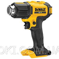Пистолет горячего воздуха - фен аккумуляторный DeWALT DCE530N