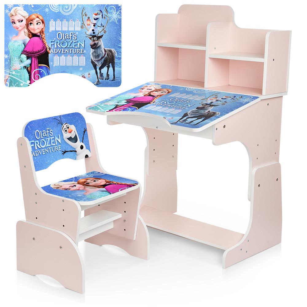 Детская парта Frozen W 2071-69-3 со стульчиком