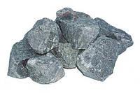 Камень для сауны габбро- диабаз колотый, 5-10 см