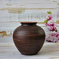 Гончарная ваза ручной работы Витязь h20 см