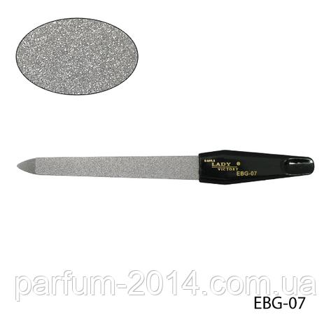 Пилка Lady Victory EBG-07 металлическая с черной ручкой, фото 2