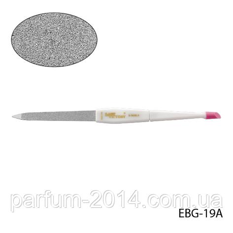 Пилка Lady Victory EBG-19A металлическая с ластиком для удаления кутикулы, фото 2