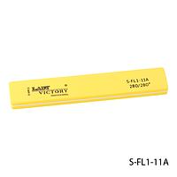 Бафик Lady Victory S-FL1-11A - шлифовщик прямоугольный, желтый (280/280)