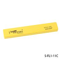 Бафик Lady Victory S-FL1-11C - шлифовщик прямоугольный, желтый (220/220)