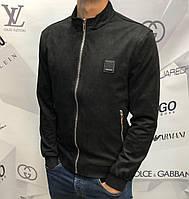 Мужская куртка ветровка Calvin Klein D9882 черная