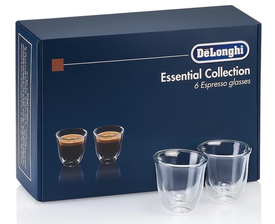 Набір склянок DeLonghi Espresso 60 мл (6 шт)