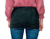 Пояс из собачьей шерсти Nebat Размер XL (талия - 130 см), шерстяной согревающий пояс на поясницу (GIPS)