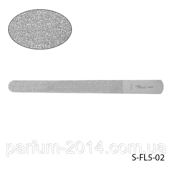 Пилка Lady Victory S-FL5-02 металлическая с алмазным напылением,