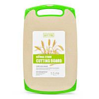 Разделочная доска из Пшеничной шелухи SHEYAR R29047 ЭКО 19,5х33 см