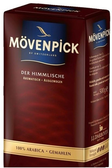 Кофе молотый MÖVENPICK Der Himmlische 250г.